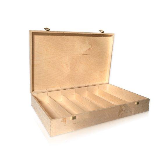 Drvena kutija za 6 boca