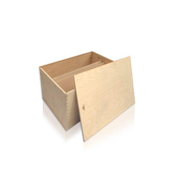Drvena kutija za 6 boca eko