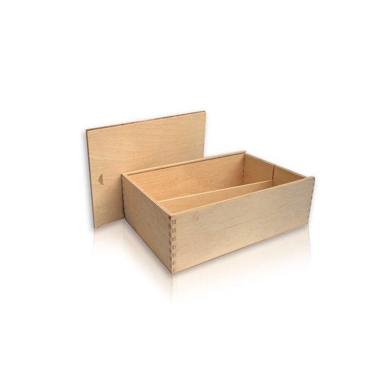 Drvena kutija za 2 boce eko