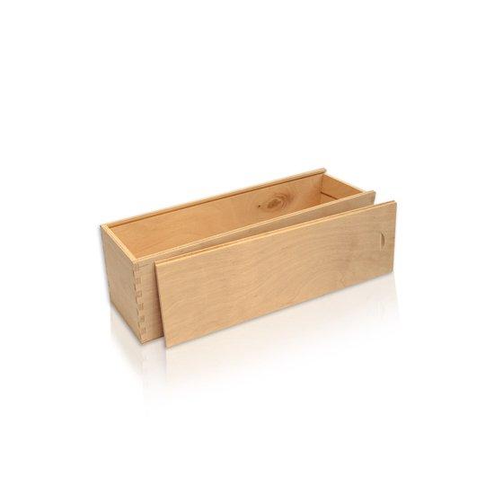 Drvena kutija za 1 bocu eko