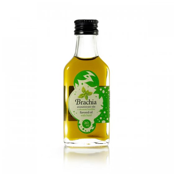 Brachia aromatizirano ulje bosiljak 20 ml