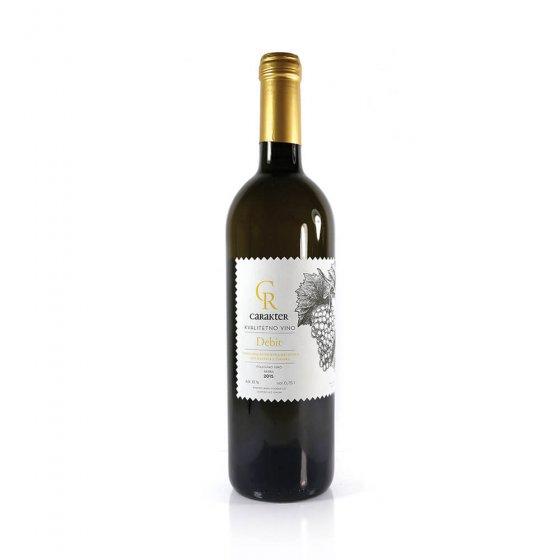 Carakter Debit kvalitetno vino