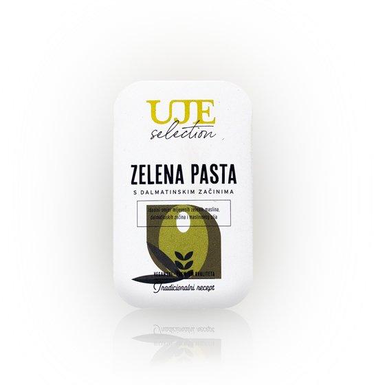 Uje selection pasta od zelenih maslina 40g