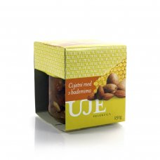 Uje Selection Blossom honey with almonds 240 g