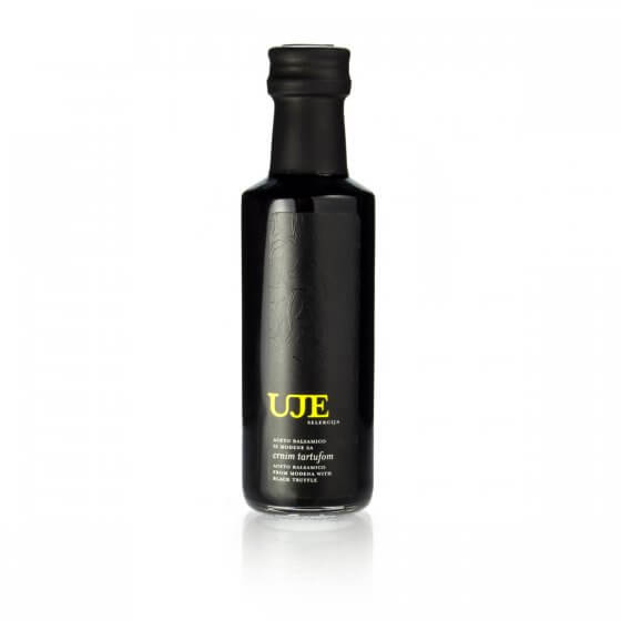 Uje Selection aceto balsamico with black truffle 100ml